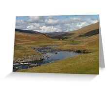 Pleasant Day in the Highlands Greeting Card