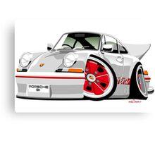 Classic Porsche 911 Carrera caricature Canvas Print