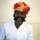 jaipur man. by Paula Birch