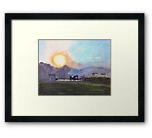 Sedgfield (Painting) Framed Print