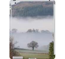Morning mist after rainy night iPad Case/Skin