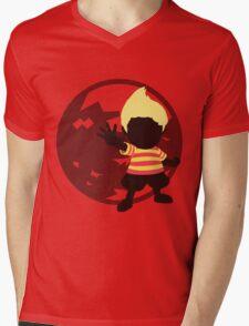 Lucas (Mother, Version 1) - Sunset Shores Mens V-Neck T-Shirt
