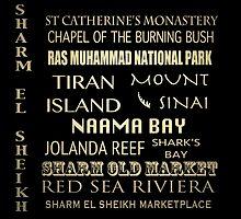 Sharm el Sheik Famous Landmarks by Patricia Lintner