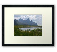Mountainscape, Hua Hin, Thailand Framed Print
