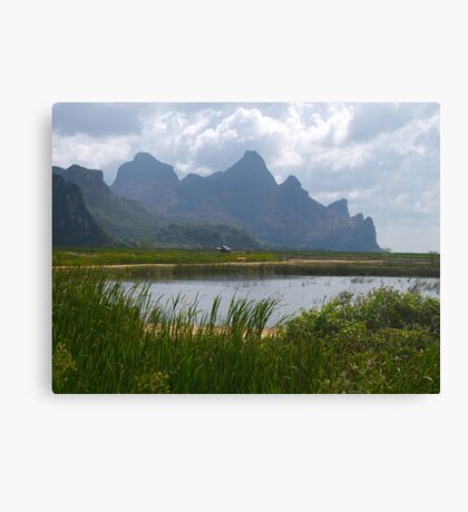 Mountainscape, Hua Hin, Thailand Canvas Print