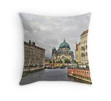 Berliner Dom Germany Throw Pillow