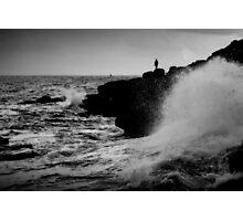 French Atlantic Coast - Storm Photographic Print