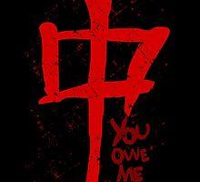 YOU OWE ME AWE - symbol by FandomizedRose