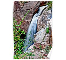 HDR Waterfall Poster