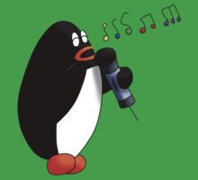 Singing Penguin One Piece - Short Sleeve