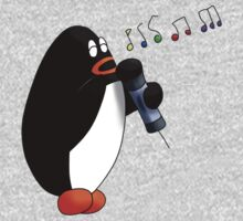 Singing Penguin One Piece - Long Sleeve
