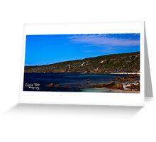 Canal Rocks Greeting Card