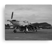 P-51 Mustang 'Ferocious Frankie' @ IWM Duxford Canvas Print