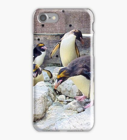 Don't move - I've dropped my contact lens iPhone Case/Skin