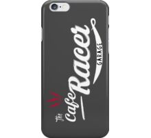 The cafe racer garage iPhone Case/Skin