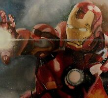 Iron Man Battle by MadianR