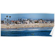 Day in the Life of Newport Beach Poster