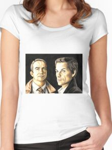 Law and Order UK Women's Fitted Scoop T-Shirt