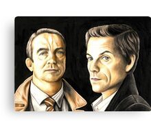 Law and Order UK Canvas Print