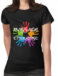 Massage Therapist Womens Fitted T-Shirt