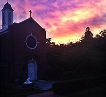 St. Mary's Sunset by Katherine Buckner