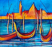 Venice Travels by Peter Evans