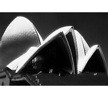 Opera House steps Photographic Print