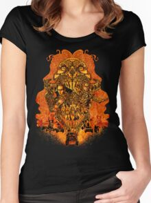 In the Mouth of Madness Women's Fitted Scoop T-Shirt