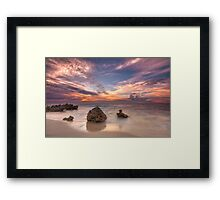 Bennion beach Framed Print