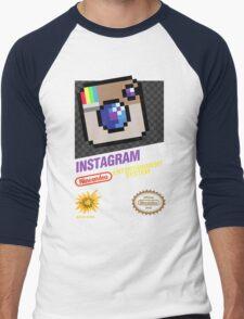 NES Instagram Men's Baseball ¾ T-Shirt