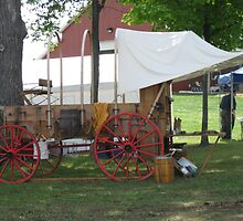 chuck wagon by Jeannie Matthews
