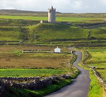 Doonagore Castle-Doolin Ireland by Namaste