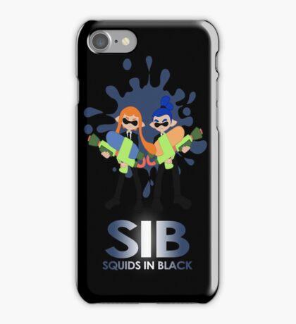 Squids in Black iPhone Case/Skin