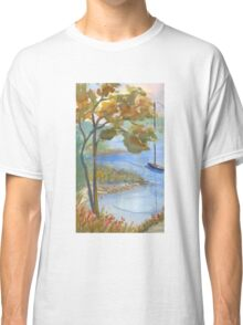 Kings Cove, Damarascotta Area in Maine Classic T-Shirt