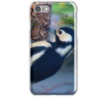 I can see you standing behind me iPhone Case/Skin