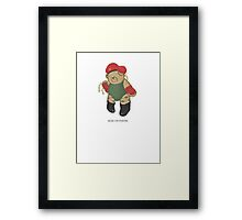 BEARS and FIGHTERS - Cammy Framed Print