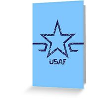 USAF - US Air Force  Greeting Card
