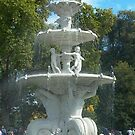 fountain by the old Exhibition Buildings, Melbourne by BronReid