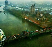 Wheel-Eye-View, London by Erin Guest