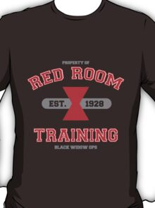 Red Room Training- White & Red (vari. 2) T-Shirt
