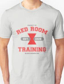 Red Room Training- White & Red (vari. 2) T-Shirt