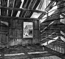 Window Framed House by Appel