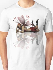 """Meh"" Bad Attitude Fairy Smoking A Cigarette T-Shirt"