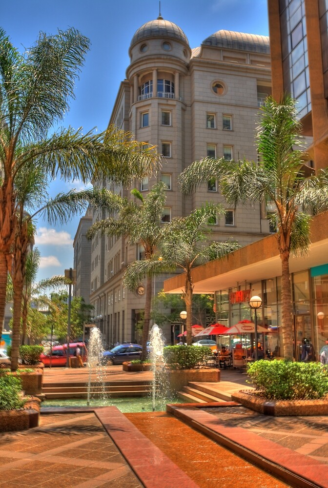 BankCity in central Johannesburg by JandeBeer