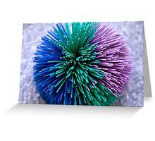 Koosh Ball Abstract Greeting Card
