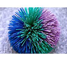 Koosh Ball Abstract Photographic Print