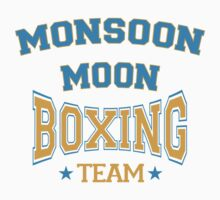 The Mighty Boosh – Monsoon Moon Boxing Team Kids Tee