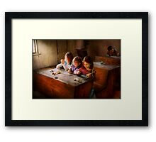 Teacher - Classroom - Education can be fun  Framed Print