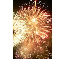 Fireworks New Years Eve - Sydney Australia Photographic Print