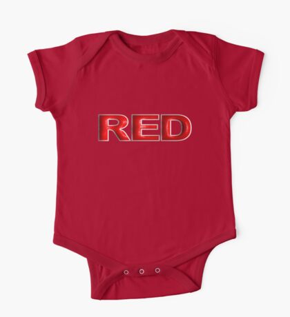 Red 1 One Piece - Short Sleeve